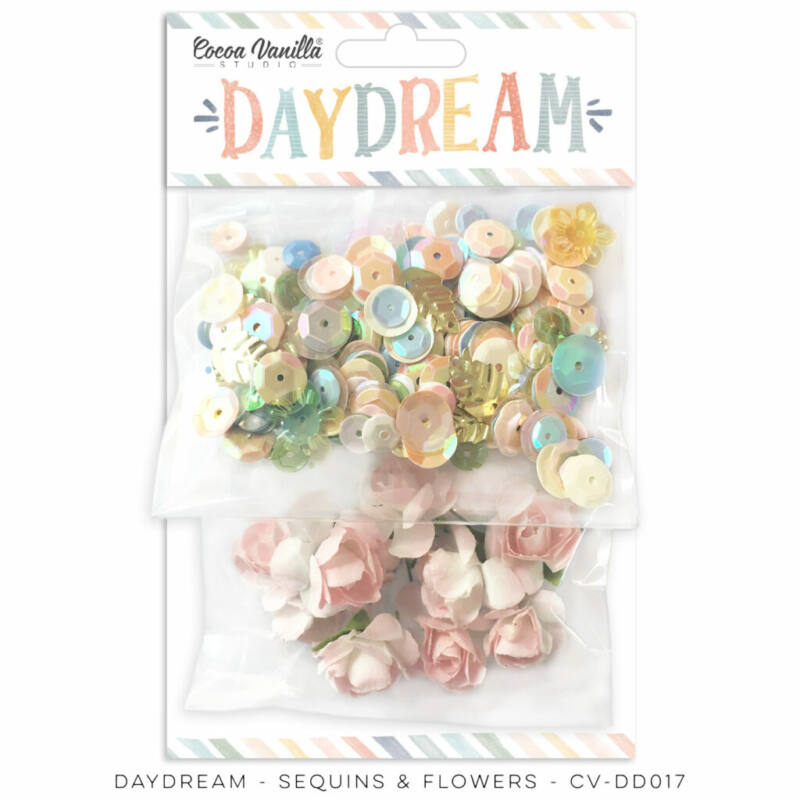 Cocoa Vanilla Studio - Daydream Sequins and Flowers