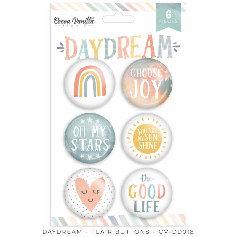 Cocoa Vanilla Studio - Daydream Flair Buttons