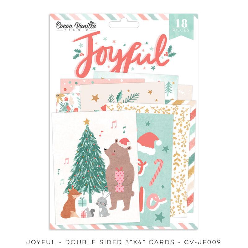 Cocoa Vanilla Studio - Joyful 3x4 Double-Sided Pocket Cards