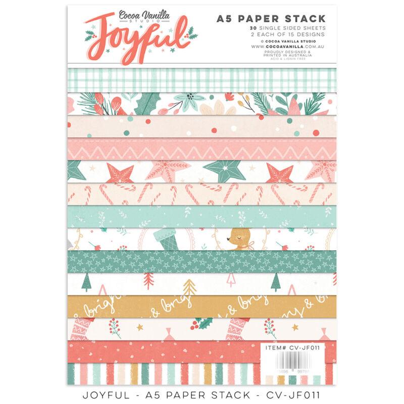 Cocoa Vanilla Studio - Joyful 6x8 Paper Stack