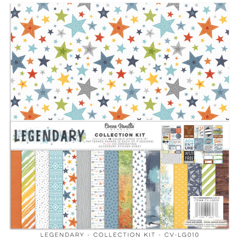 Cocoa Vanilla Studio - Legendary Collection Kit