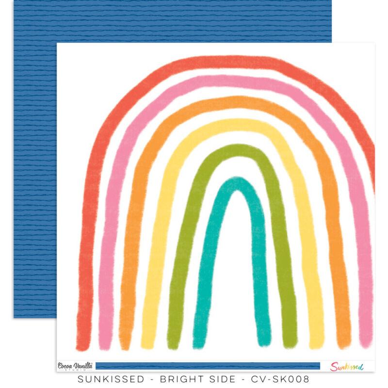 Cocoa Vanilla Studio - Sunkissed 12x12 Paper - Bright Side