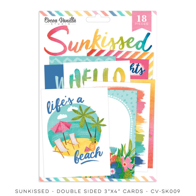Cocoa Vanilla Studio - Sunkissed Pocket Cards