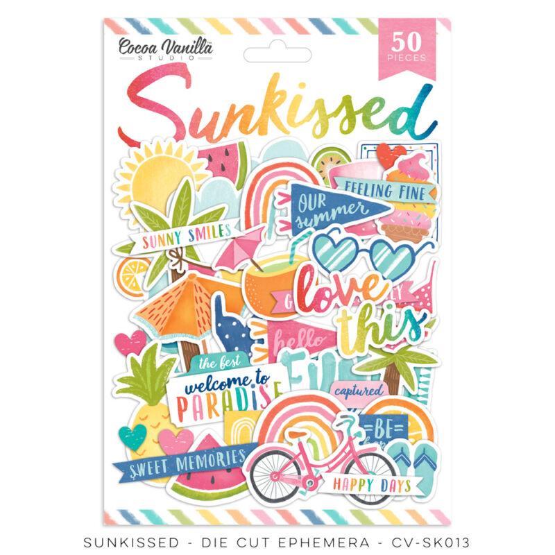 Cocoa Vanilla Studio - Sunkissed Die Cut Ephemera