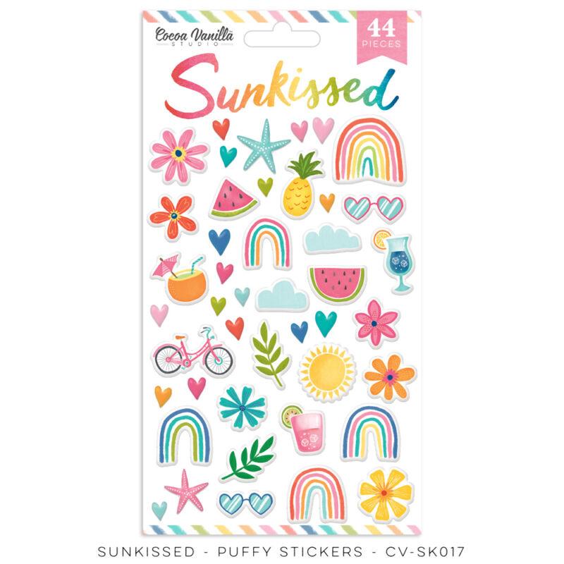 Cocoa Vanilla Studio - Sunkissed Puffy Stickers