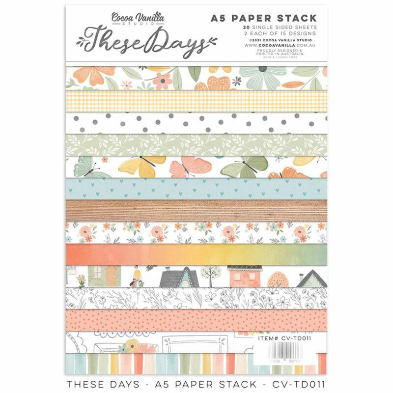 Cocoa Vanilla Studio - These Days 6x8 Paper Stack