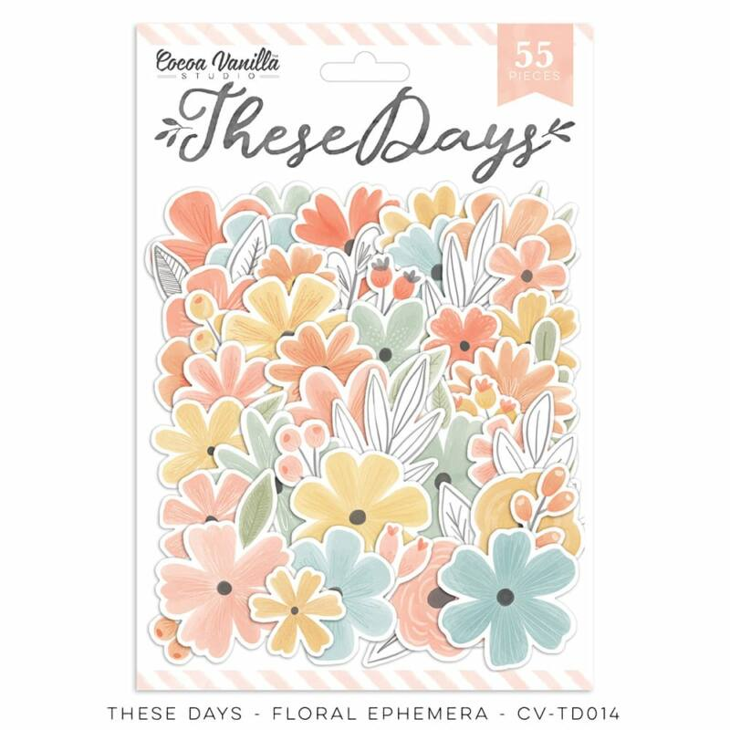 Cocoa Vanilla Studio - These Days Floral Ephemera