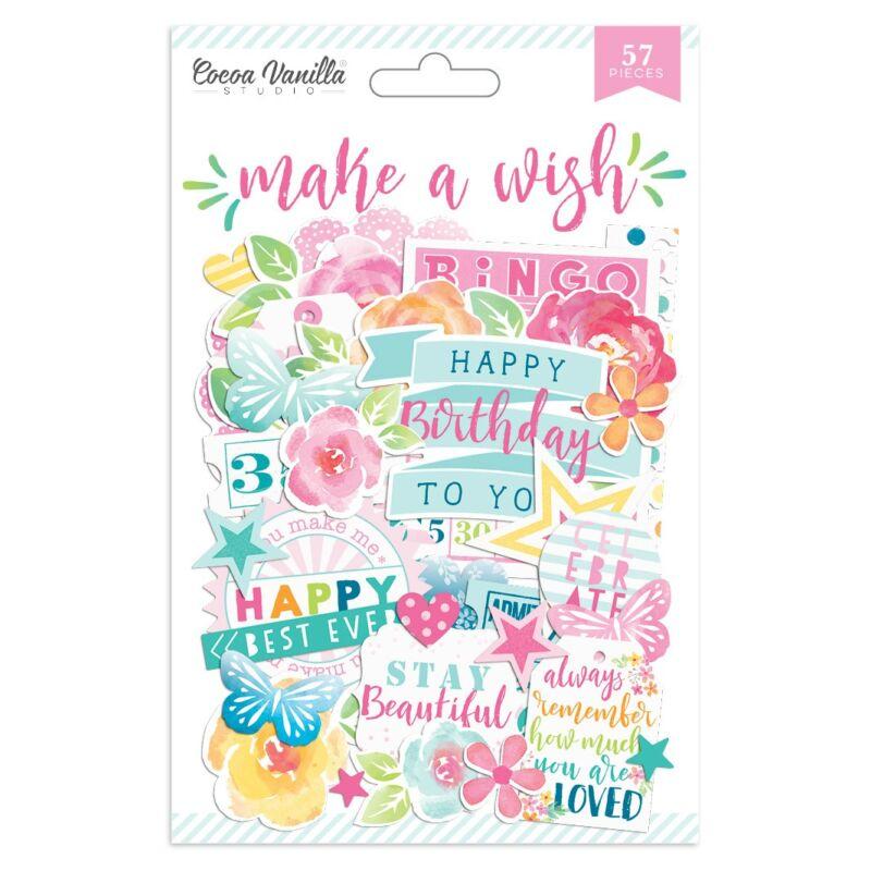 Pinkfresh Studio Die-Make A Wish