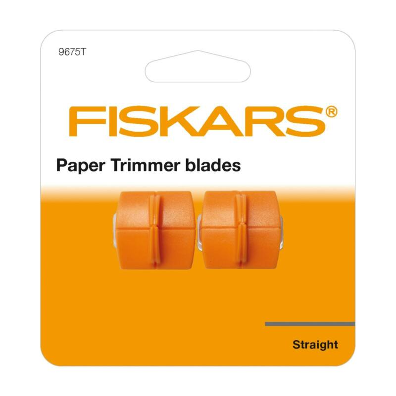 Fiskars replacement blades 2x for paper trimmer