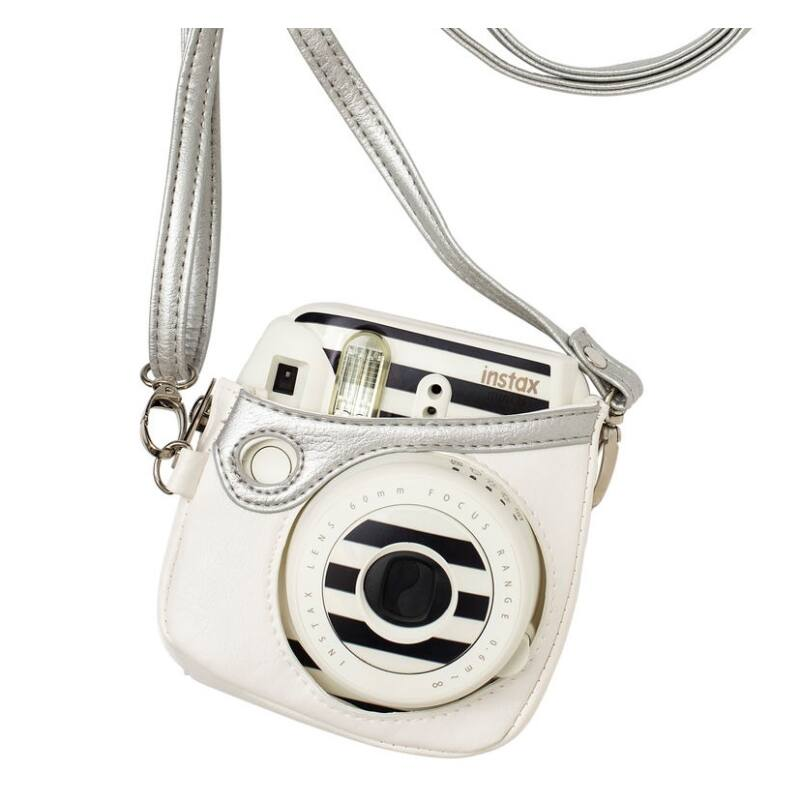 Heidi Swapp Instax Mini 8 Cozy Silver Bag
