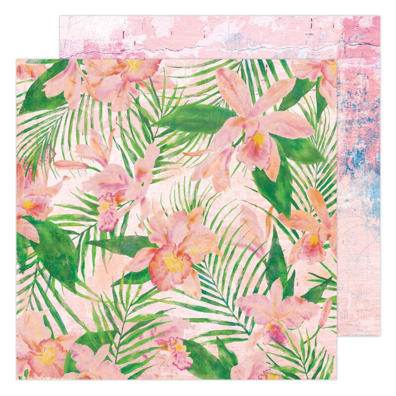 Heidi Swapp - Art Walk 12x12 papír - Full Bloom