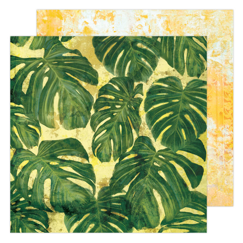 Heidi Swapp - Art Walk 12x12 Paper - Tropics