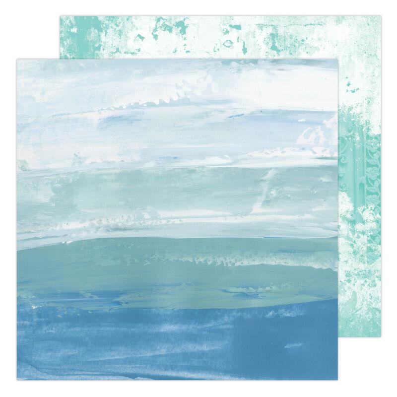 Heidi Swapp - Art Walk 12x12 Paper - Sea to Sky