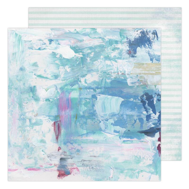 Heidi Swapp - Art Walk 12x12 Paper - Blues