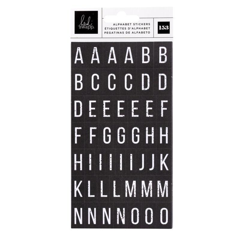 Heidi Swapp - Art Walk Cardstock Alpha Sticker (153 Piece)