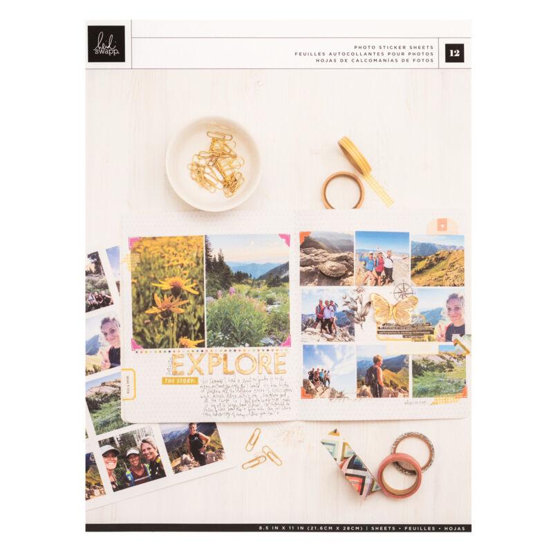 Heidi Swapp - Storyline Chapters 8.5x11 Photo Paper  (12 Piece)