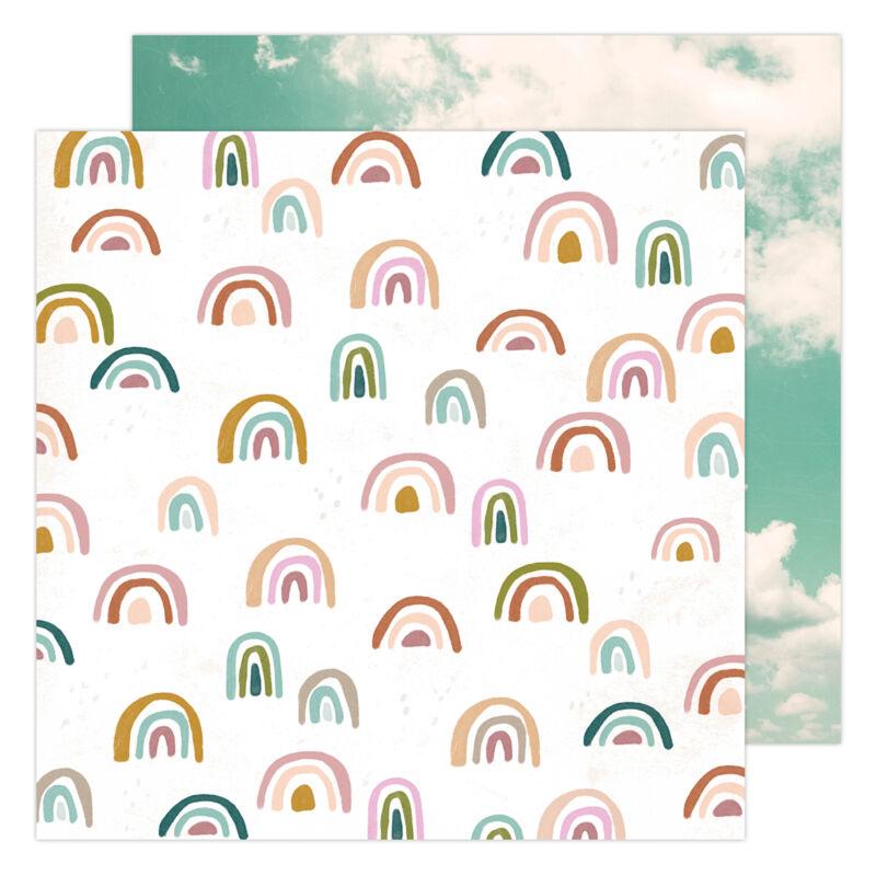 Heidi Swapp - CareFree 12x12 Paper - Sunny Skies