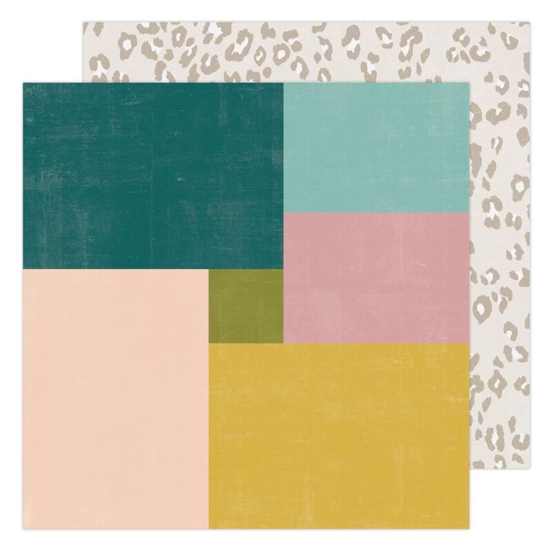 Heidi Swapp - CareFree 12x12 Paper - New Day
