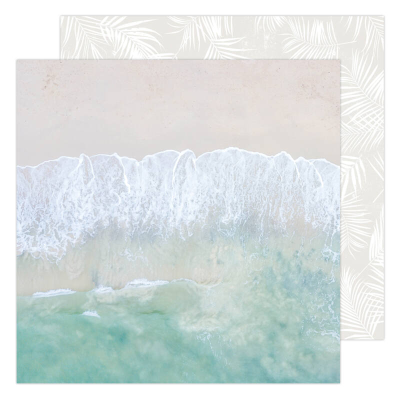 Heidi Swapp - CareFree 12x12 Paper - Salty Air