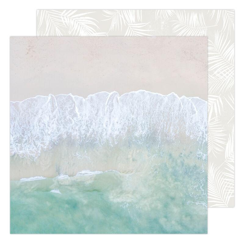 Heidi Swapp - CareFree 12x12 Paper - Salty Air