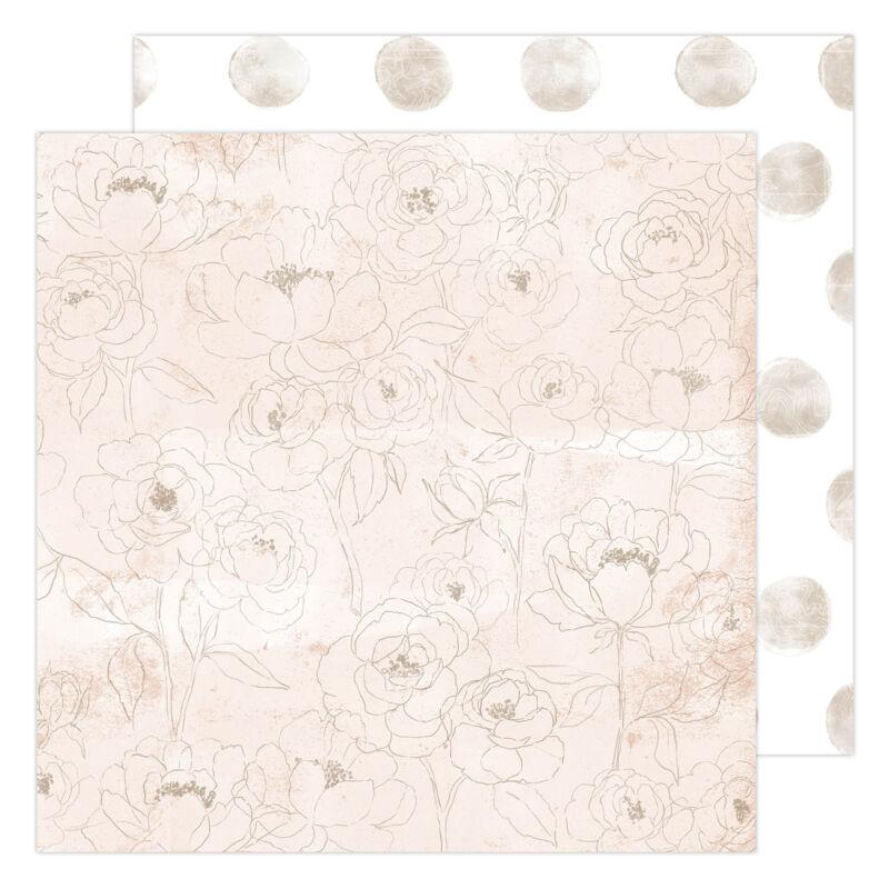 Heidi Swapp - CareFree 12x12 Paper - Morning Meadow