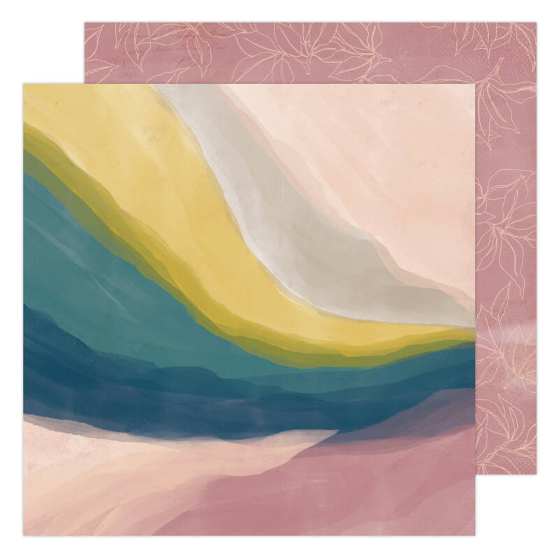 Heidi Swapp - CareFree 12x12 Paper - Vista