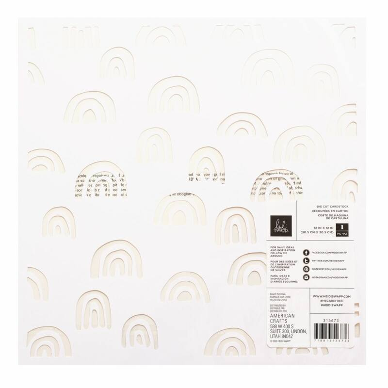 Heidi Swapp - CareFree 12x12 Specialty Paper 1