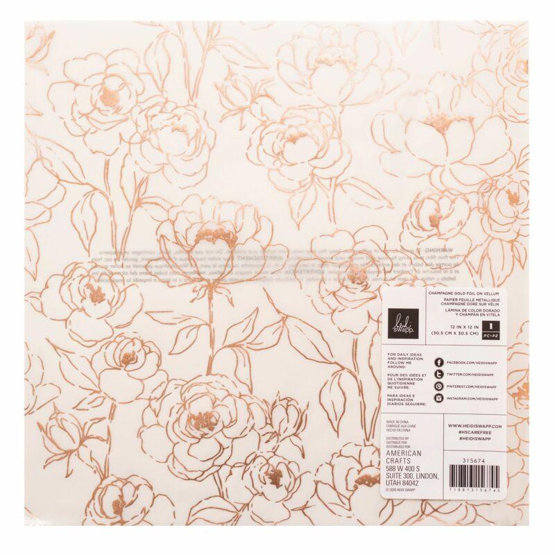 Heidi Swapp - CareFree 12x12 Specialty Paper 2