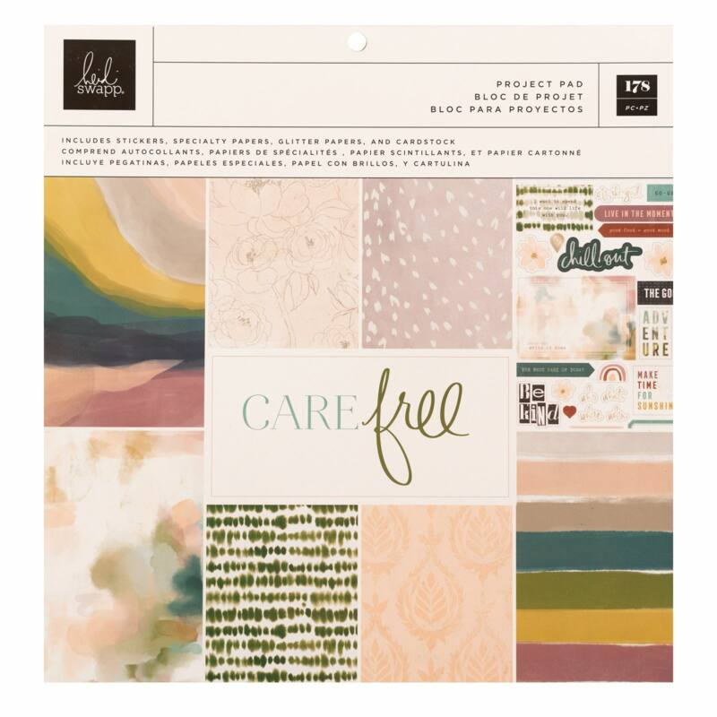 Heidi Swapp - CareFree 12x12 Project Pad (36 Sheets)