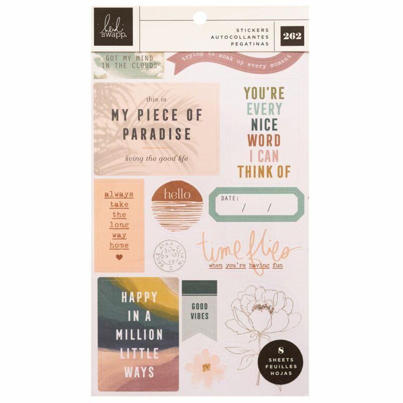 Heidi Swapp - CareFree Sticker Book (262 Piece)