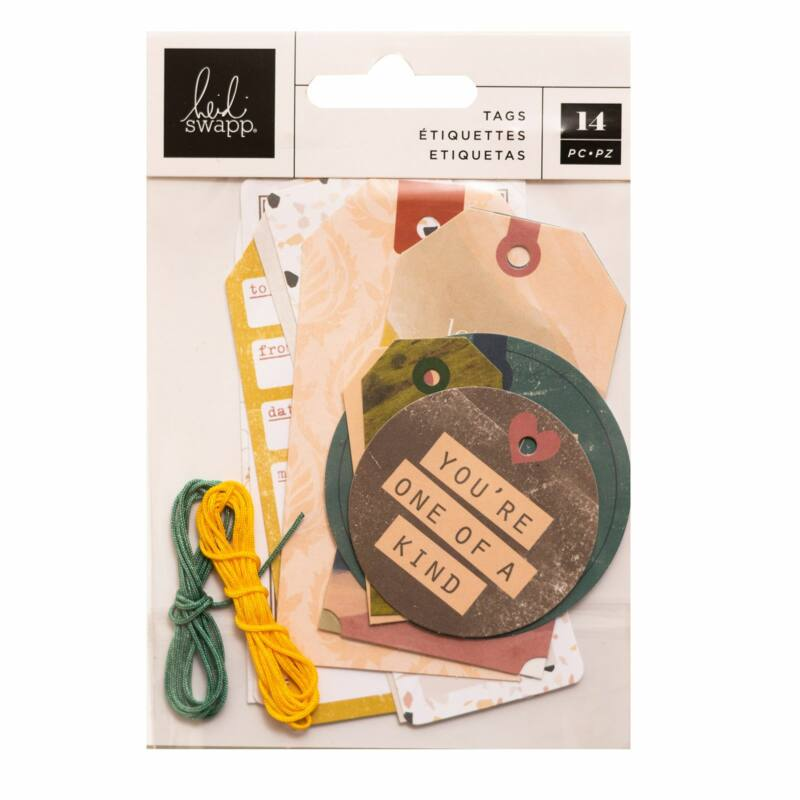 Heidi Swapp - CareFree Tag Set (14 Piece)