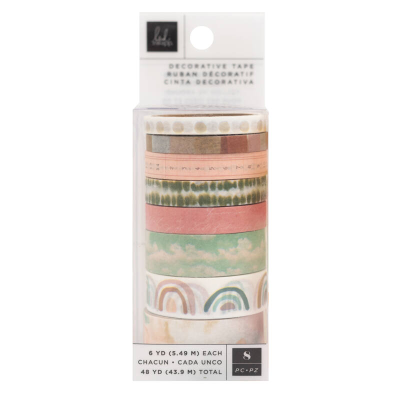 Heidi Swapp - CareFree Washi Set (8 Piece)