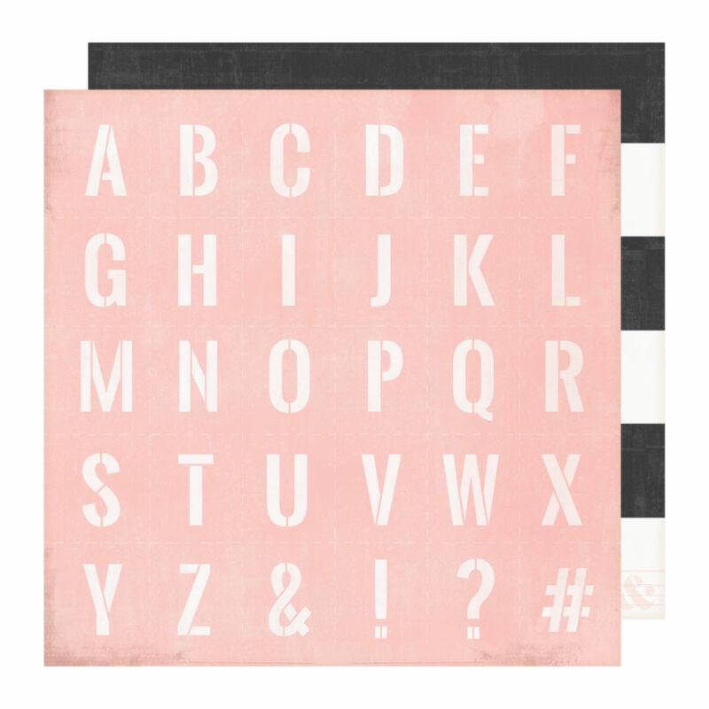 Heidi Swapp - Emerson Lane 12x12 Scrapbook Papír - Classic