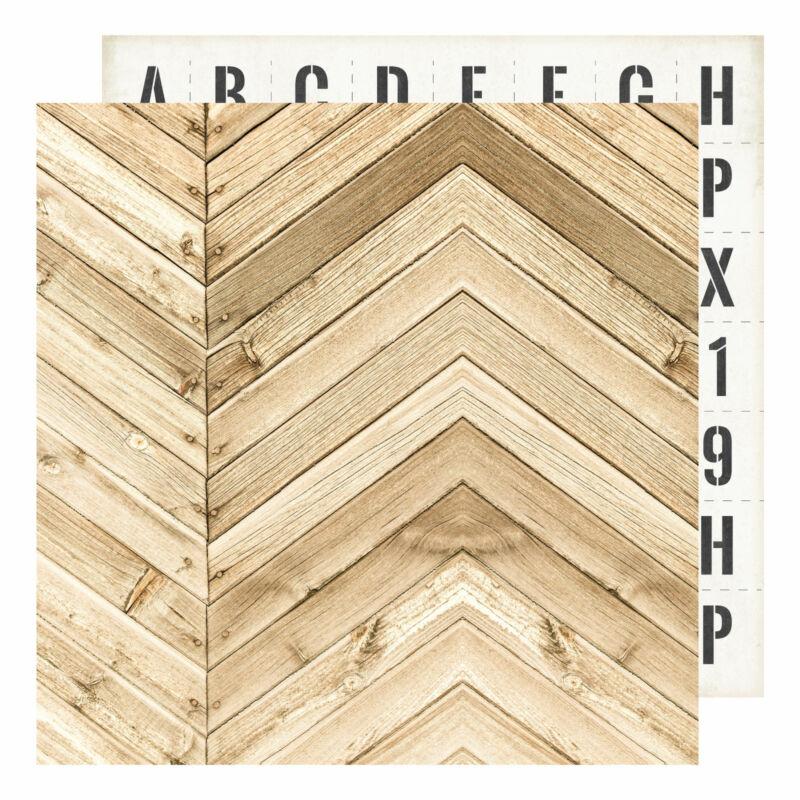 Heidi Swapp - Emerson Lane 12x12 Paper - Harrison