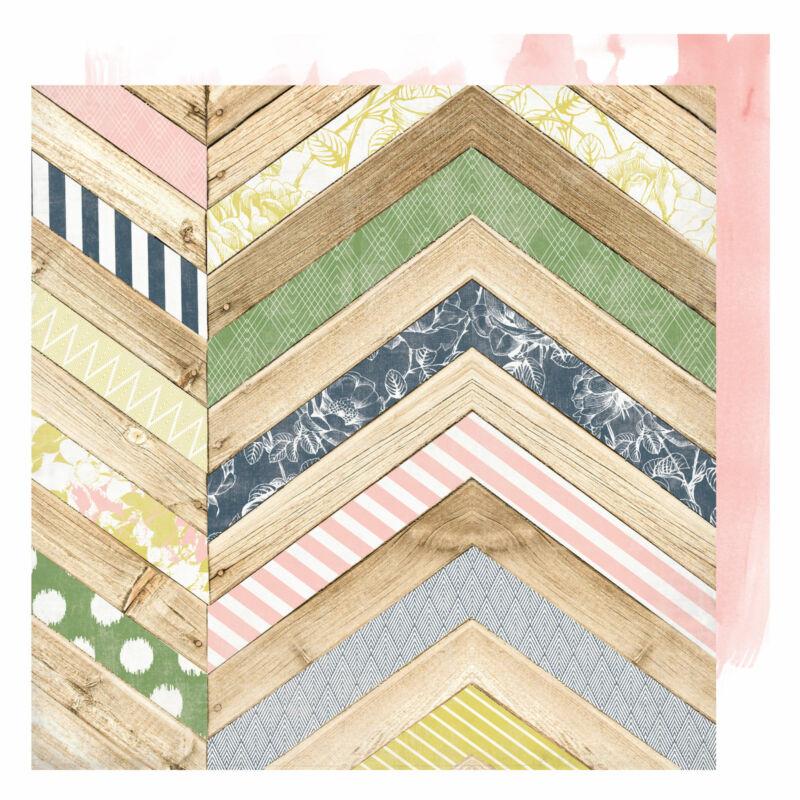 Heidi Swapp - Emerson Lane 12x12 Scrapbook Papír - Old School