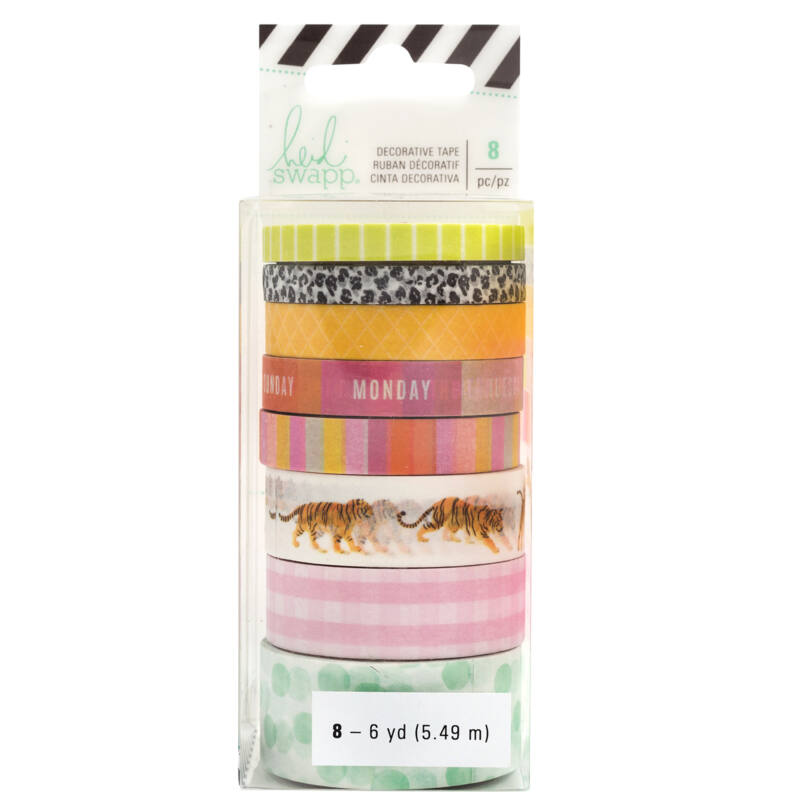 Heidi Swapp - Color Fresh washi szett (8 db)