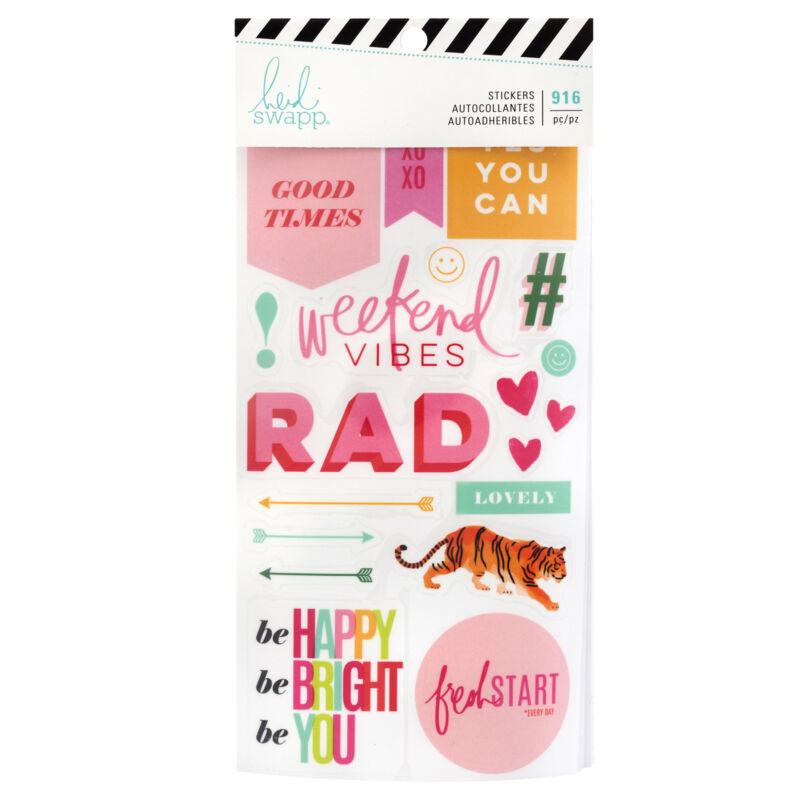 Heidi Swapp - Color Fresh Sticker Book (916 Piece)