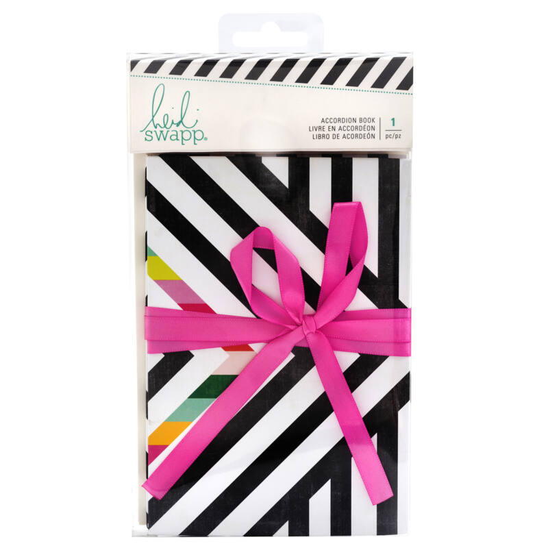 Heidi Swapp - Color Fresh Accordion Book (8 Sheets)