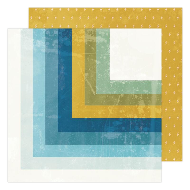 Heidi Swapp - Old School 12x12 Paper- Summerland