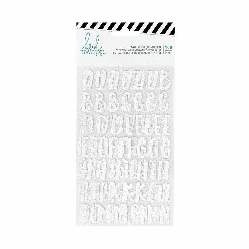 Heidi Swapp - Pineapple Crush Glitter Alphabet