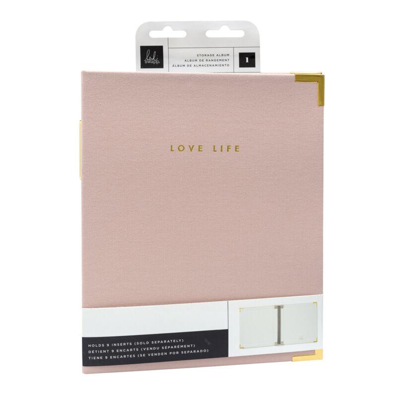 Heidi Swapp - Storyline Chapters 8x10 album - pasztell rózsaszín