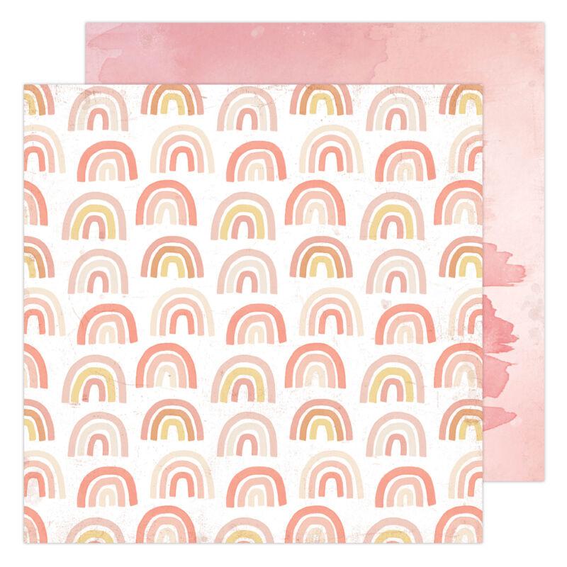 Heidi Swapp - Storyline Chapters 12x12 Paper - Rainbow