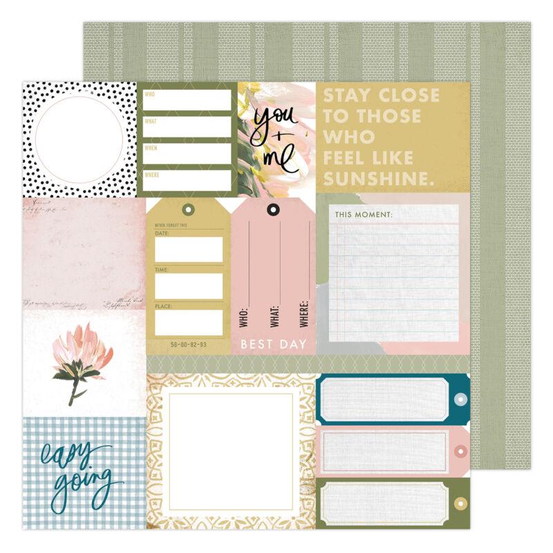 Heidi Swapp - Storyline Chapters 12x12 scrapbook papír - Everyday