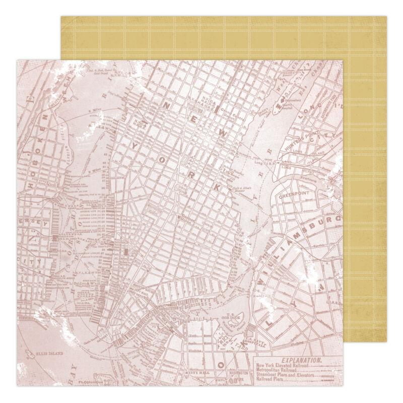 Heidi Swapp - Storyline Chapters 12x12 scrapbook papír - Lost