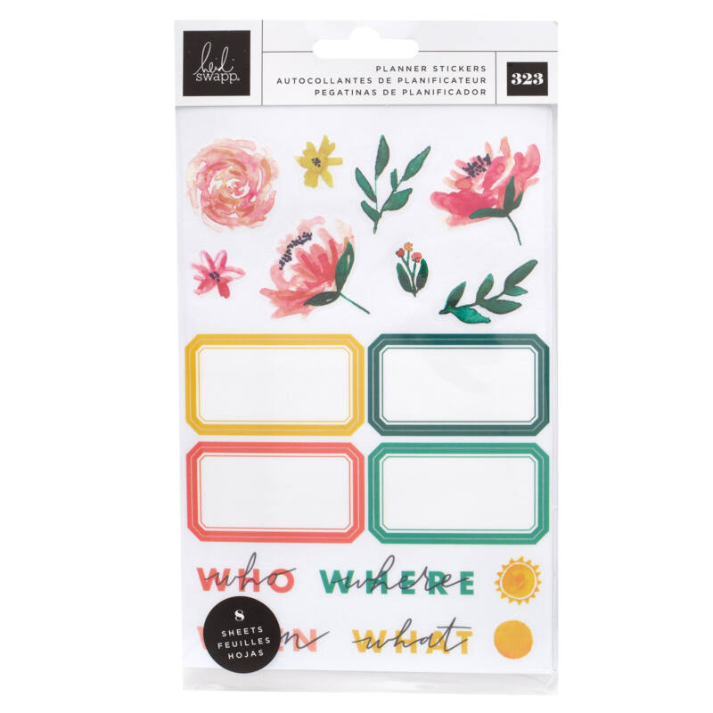Heidi Swapp - Storyline Chapters - Mini Sticker Book - The Planner (323 Piece)