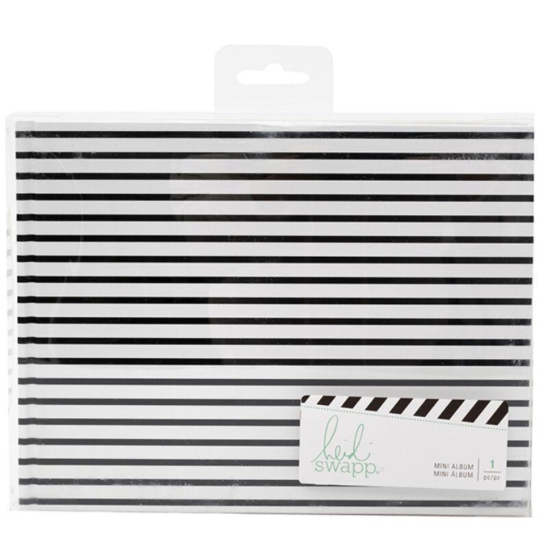 Heidi Swapp - Storyline 2 Brag Book - Black Stripes