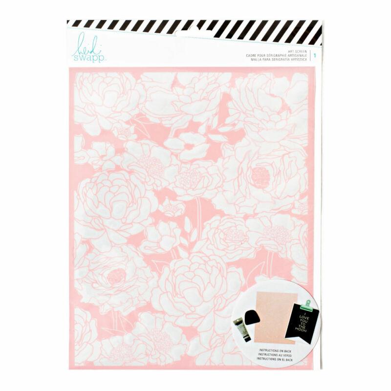 Heidi Swapp - Art Screens - Floral