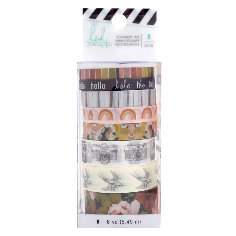 Heidi Swapp - Honey & Spice Washi Tape (8 Piece)