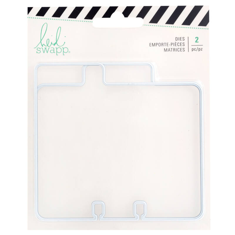 Heidi Swapp - Memorydex Cutting Die - Tabs (2 Pieces)