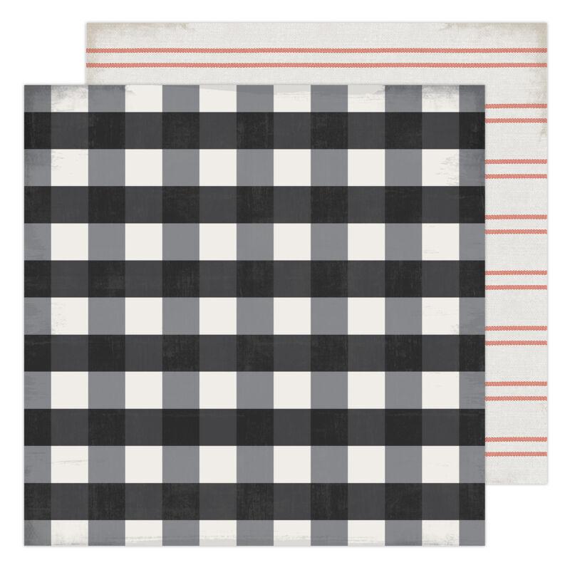 Heidi Swapp - Winter Wonderland 12x12 Patterned Paper - Warm & Cozy